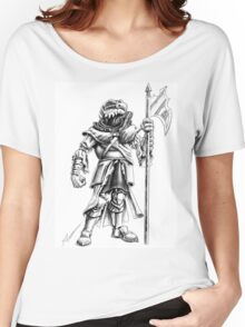 Ridley, the Dragonborn Fighter Women's Relaxed Fit T-Shirt