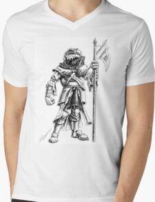 Ridley, the Dragonborn Fighter Mens V-Neck T-Shirt