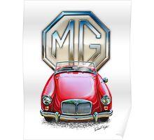 MGA Sportscar Print Poster