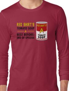 Red Shirt's Tomato Soup Long Sleeve T-Shirt