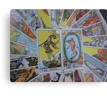 Tarot Cards Metal Print