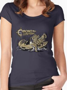 Chrono to the Future Women's Fitted Scoop T-Shirt