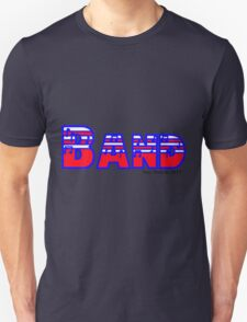 Band Red White & Blue T-Shirt
