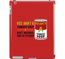 Red Shirt's Tomato Soup iPad Case/Skin