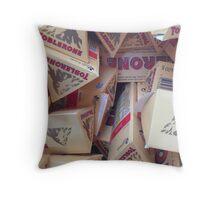 Toblerone Throw Pillow