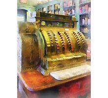 Pharmacist - Cash Register in Pharmacy Photographic Print