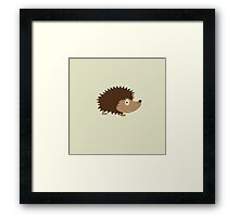 Cute Hedgehog Framed Print
