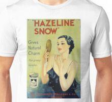Vintage Hazeline Snow Makeup Lotion Unisex T-Shirt