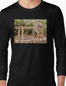 Old Equipment in Death Valley Long Sleeve T-Shirt