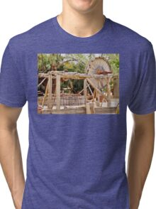 Old Equipment in Death Valley Tri-blend T-Shirt