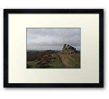 Ashover Views Framed Print