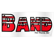Band Red Poster