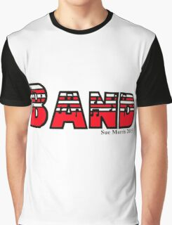 Band Red Graphic T-Shirt