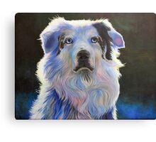 Colorful Dog 2 Canvas Print