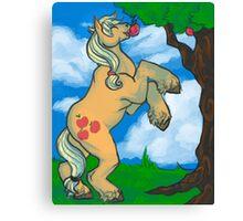 Silly Pony Canvas Print