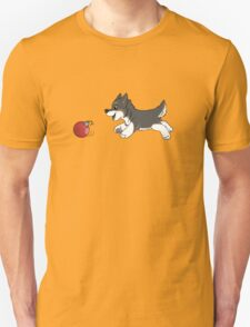 Ornament Chaser- Timber wolf Unisex T-Shirt