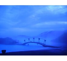 Blue Lagoon Spa Photographic Print