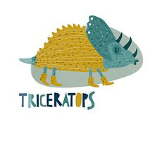 Triceratops by menulis