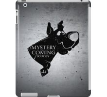 Mystery is coming iPad Case/Skin