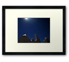 Lunar Reapers and Orion..... Framed Print