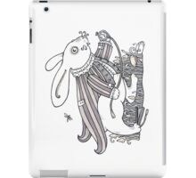The White Rabbit Rush  iPad Case/Skin