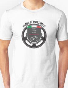 Passo di Mortirolo Unisex T-Shirt
