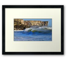 Land & Sea - Eternal Battle  Framed Print