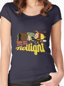 A Better love story then Twilight Women's Fitted Scoop T-Shirt