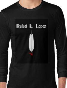 Feather Pen Long Sleeve T-Shirt