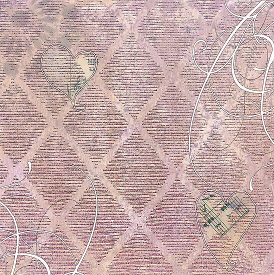 Mixed Media Art Page  by Sandra Foster