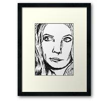 Gillan Framed Print