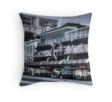 """Electric Avenue"" Amusement Arcade on Marine Parade Southend  Throw Pillow"