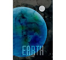 The Planet Earth Photographic Print