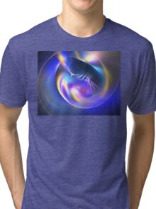 Blueberry Pod Tri-blend T-Shirt