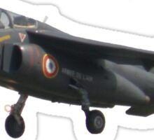 Alpha jet Sticker