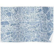 London Street Map Poster