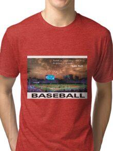 Baseball Tri-blend T-Shirt