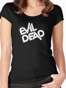 Evil Dead Women's Fitted Scoop T-Shirt