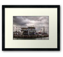 Portsmouth Dock Framed Print
