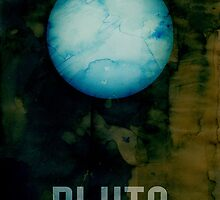 The Planet Pluto by ArtPrints