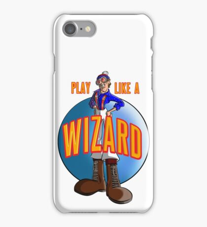 Play like a WIZARD! iPhone Case/Skin