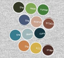 The Maze Runner Series in Basic Colors by SecondHandShoes