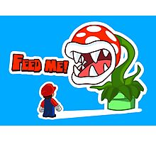 Feed me! Photographic Print