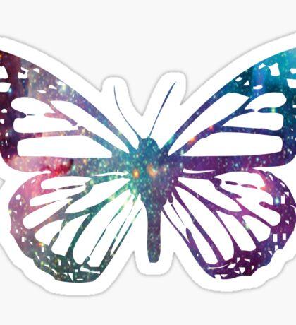 Monarch Galaxy Sticker