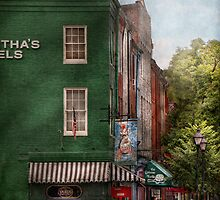 City - Baltimore, MD - Fells Point, MD - Bertha's and The Greene Turtle  by Mike  Savad