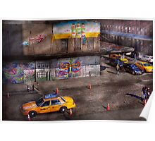 City - New York - Greenwich Village - Life's color Poster