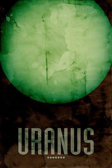 The Planet Uranus by Michael Tompsett