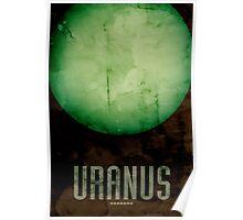 The Planet Uranus Poster