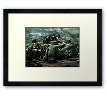ANCIENT KNOWLEDGE 2 Framed Print