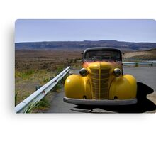 1938 Chevrolet Sedan Hot Rod Canvas Print